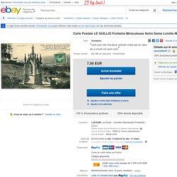 Carte Postale LE Quillio Fontaine Miraculeuse Notre Dame Lorette Montagne Femmes