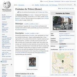 Fontaine du Triton (Rome)