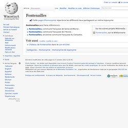 Fontenailles