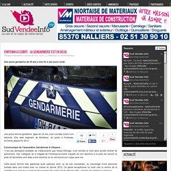 Fontenay-le-Comte : la gendarmerie est en deuil