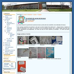 Collège de Fontenilles - Des extraits de carnets de lecteurs