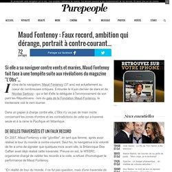 Maud Fontenoy : Faux record, ambition qui dérange, portrait à contre-courant...
