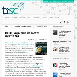UFSC lança guia de fontes científicas