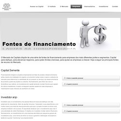 Fontes de financiamento « Instituto IBMEC