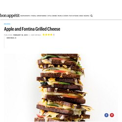 Apple and Fontina Grilled Cheese Recipe