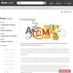 Fontology — Encyclopédie typo