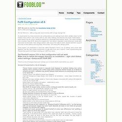 Foobar2000 Blog » FofR Configuration v0.6