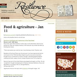 Food & agriculture - Jan 11