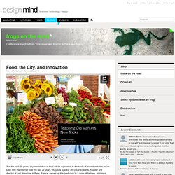 Food, the City, and Innovation