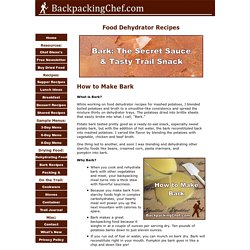 Food Dehydrator Recipes