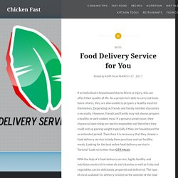 Food Delivery Service for You – Chicken Fast