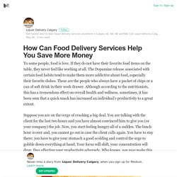 How Can Food Delivery Services Help You Save More Money