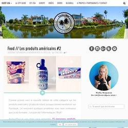 Food // Les produits américains 2