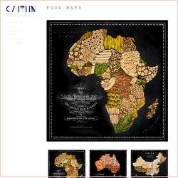 FOOD MAPS - CAITLIN STYLE