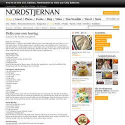 Food - Nordstjernan