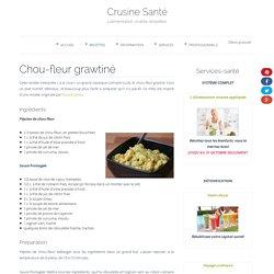 Chou-fleur grawtiné