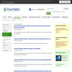 The Food Safety Authority of Ireland