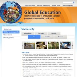 Food security - Global Education