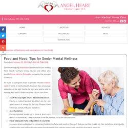 Food and Mood: Tips for Senior Mental Wellness