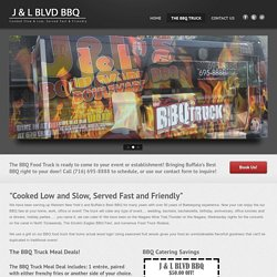 The BBQ Food Truck - Buffalo's Best BBQ! J&L Boulevard