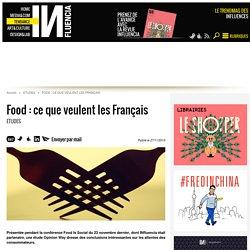 Food : ce que veulent les Français
