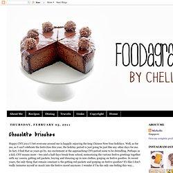 Chocolate brioches