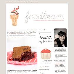 Un clapotement sur la vitre du rêve – Brownies fondants au cacao