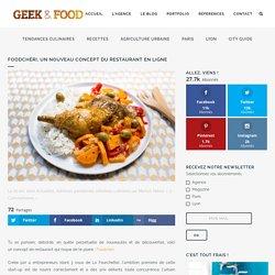 Foodchéri, un nouveau concept du restaurant en ligne