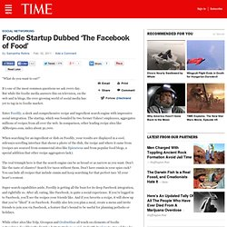Foodie Startup Dubbed 'The Facebook of Food'