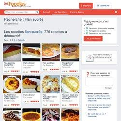 Les Foodies - Recherche : Flan sucrés