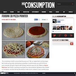 Foodini 3D Pizza Printer