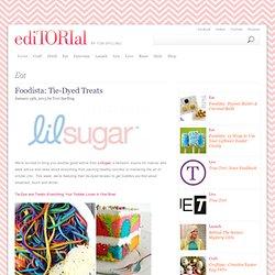 Foodista:Tie-Dyed Treats