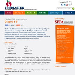 FoodMASTER (Food, Math and Science Teaching Enhancement Resource)