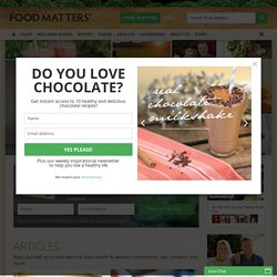 Welcome to 'Food Matters' - You Are What You Eat | FOODMATTERS®