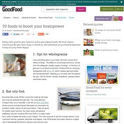 10 foods to boost your brainpower - BBC Good Food