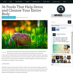 36 Foods That Help Detox and Cleanse Your Entire Body