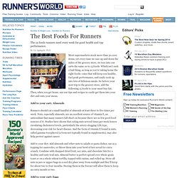 The Best Foods For Runners