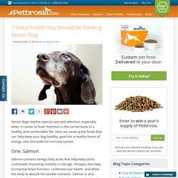 7 Foods Your Senior Dog Needs
