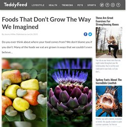 Foods That Don't Grow The Way We Imagined