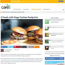 5 Foods With Huge Carbon Footprints