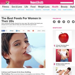 Best Foods For Women in Their 20s