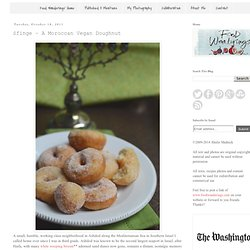 Sfinge – A Moroccan Vegan Doughnut - Washington Blog Posts - Foodbuzz