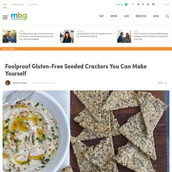 Foolproof Gluten-Free Seeded Crackers You Can Make Yourself