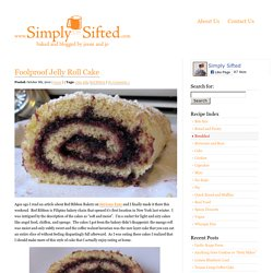 Foolproof Jelly Roll Cake