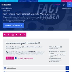 Fact Finder: Your Foolproof Guide to Media Literacy