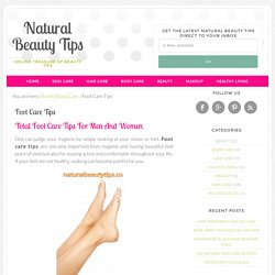 Natural Beauty Tips