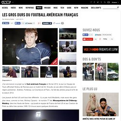 Les gros durs du football américain français