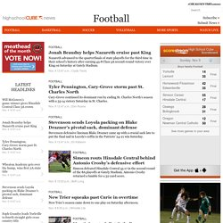 Football Archives - High School Cube News