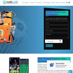 Fantasy Football App Development I Fantasy Football Software Development
