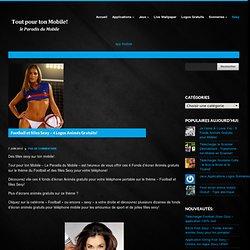 Football et filles Sexy - 4 Logos Animés Gratuits!